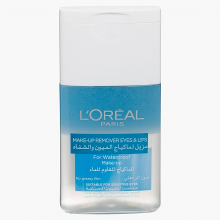 L'Oreal Paris Waterproof Makeup remover for Eye and Lips