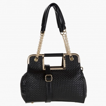 Adore Textured Tote Bag