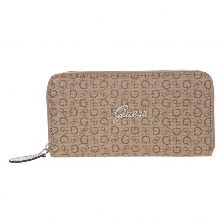 Guess Signature Printed Wallet