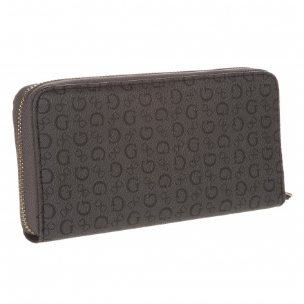 Guess Printed Zip-around Wallet