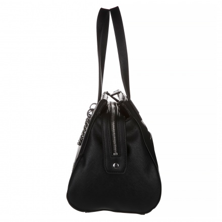 Guess Duffle Bag with Chain Embellishment
