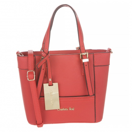 Charlotte Reid Tote Bag With Strap