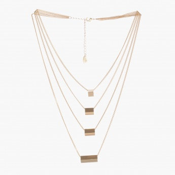 Sasha Embellished Tiered Necklace
