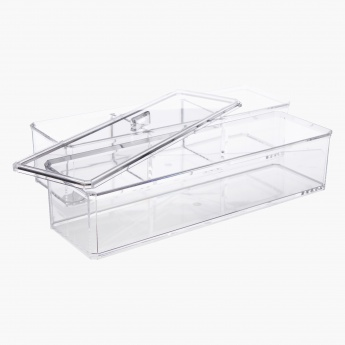 Large Stackable Cosmetic Organizer