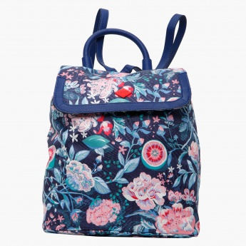 ecb2ad302ef Oilily Printed Backpack | Backpacks | Backpacks & Bags | Trendy Gear ...