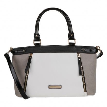 Love Juno Colour Block Tote Bag