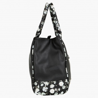 Sasha Floral Shopper Bag