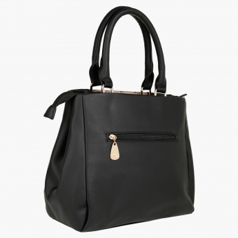 Sasha Quilted Tote Bag with Sling Belt