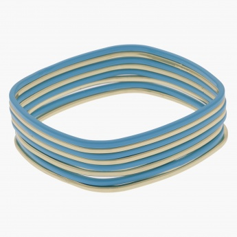 Sasha Square Bangles - Set of 8