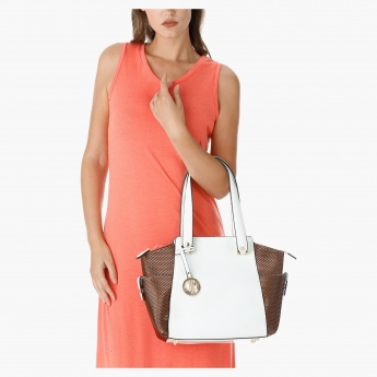 Julia & Michael Textured Handbag