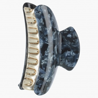 Adore Rock Print Hair Clamp