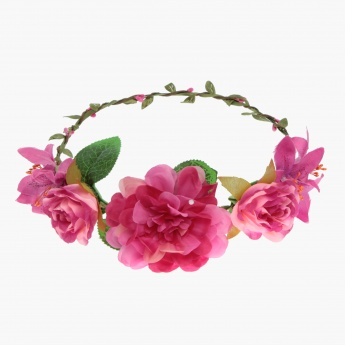 Adore Faery Dahlia Head Wreath