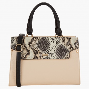 Charlotte Reid Tote Bag With Flap