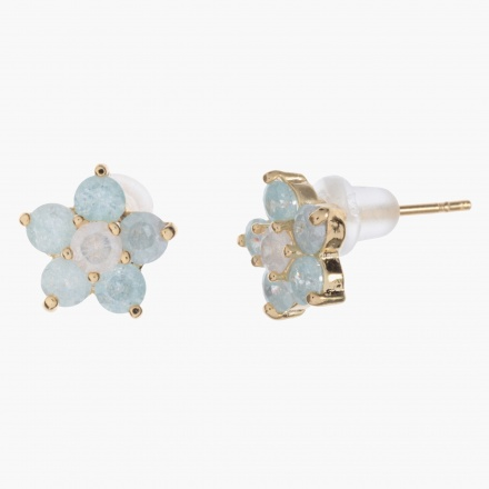 Sasha Floral Crystal-embellished Earrings