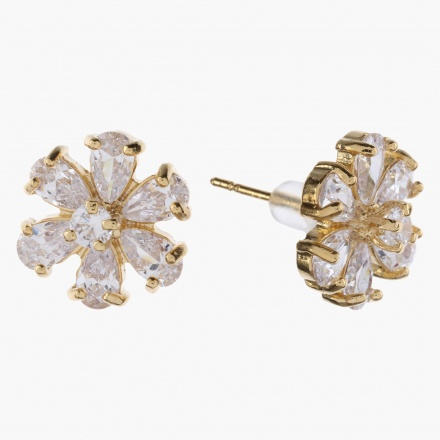 Sasha Floral-embellished Stud Earrings