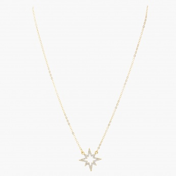 Sasha Star Studded Pendant Necklace