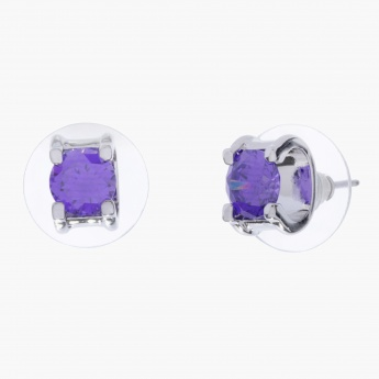Charlotte Reid Crystal-embellished Stud Earrings