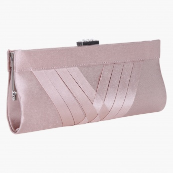 Adore Solid Colour Clutch