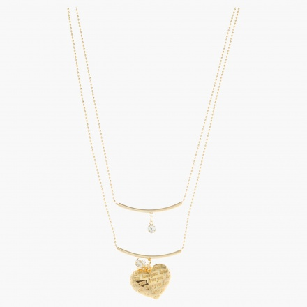 Sasha Heart Pendant Necklace