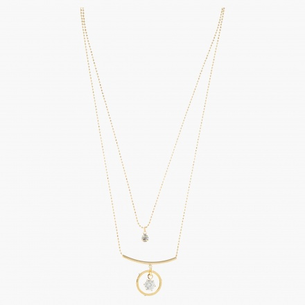 Sasha Multi-layer Pendant Necklace