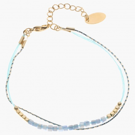 Sasha Bead-embellished Multi-layer Bracelet