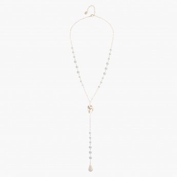 Adore Pearl-embellished Pendant Necklace