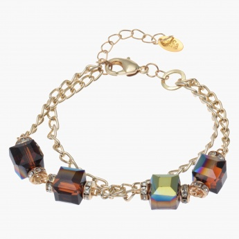 Multi-layer Bead-embellished Bracelet