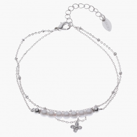 Adore Pearl-embellished Multi-layer Bracelet