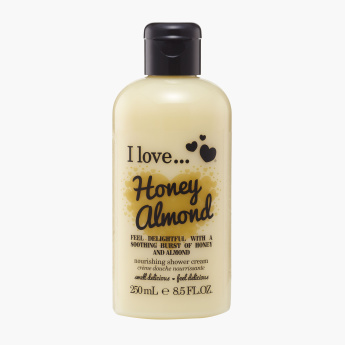 I Love Bubble Honey Almond Bath & Shower Cream - 250 ml