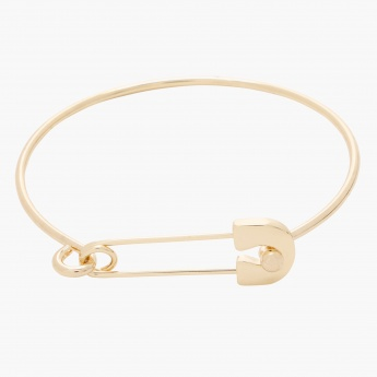 Sasha Bangle with Pin Accent