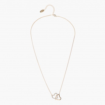 Sasha Heart-shaped Pendant Necklace