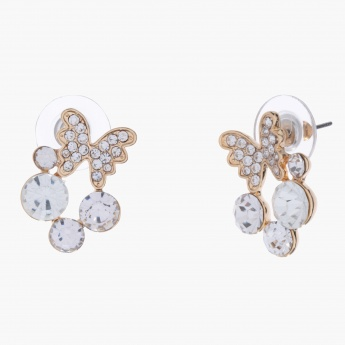 Sasha Butterfly-embellished Earrings