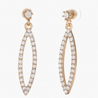 Sasha Elongated Dangler Earrings