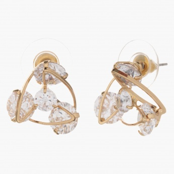 Sasha Multi Crystal-embellished Earrings