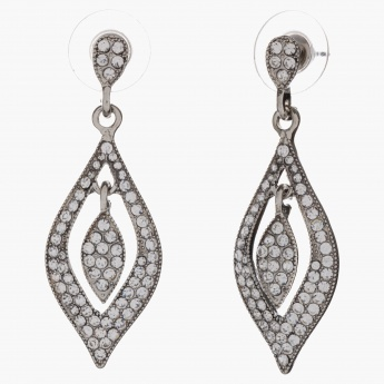 Sasha Crystal-embellished Dangler Earrings
