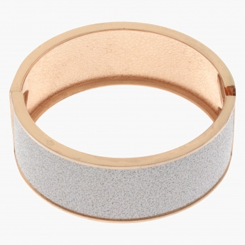Sasha Sand Paper Textured Bangle