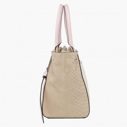 Guess Textured Satchel Bag