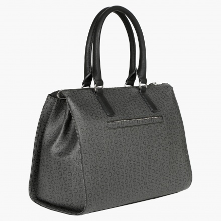 Guess Monogram Print Shopper Bag