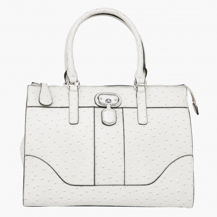 Guess Ostrich Finished Tote Bag
