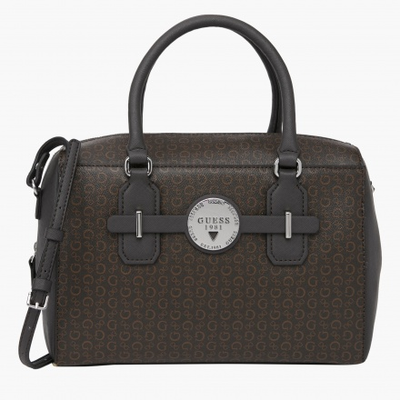 Guess Signature Print Duffle Bag