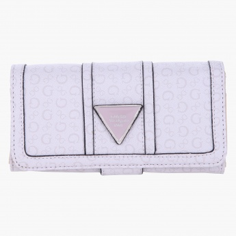 Guess Signature Flap Clutch