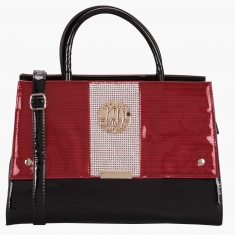 c5538b3b78dd Julia & Michael Crystal Embellished Handbag | Red