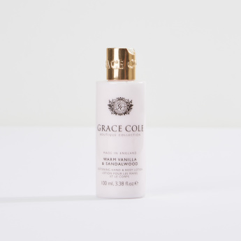 Grace Cole Warm Vanilla and Sandalwood Body Lotion - 100 ml