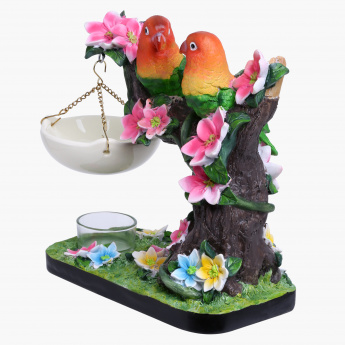 Elite d'Art Two Parrots Oil Burner