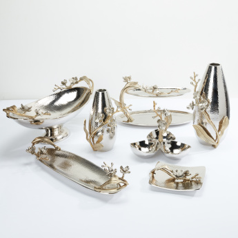 Decorative 4 Bowls with Swivel Stand