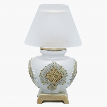 Elite d'Art Tealight Lamp - 9.5x9.5x15.24 cms