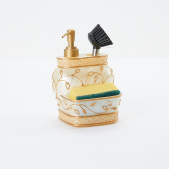 Decorative Soap Dispenser with Holder