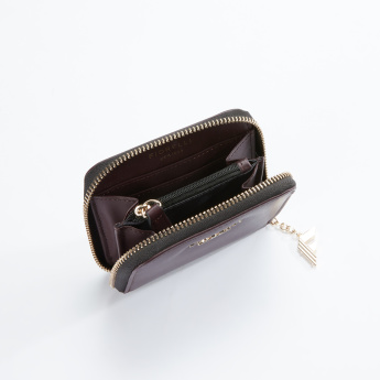 Fiorelli Metallic Detail Wallet with Zip Closure