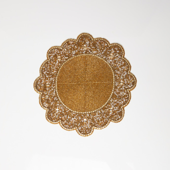 Medallion Beaded Placemat