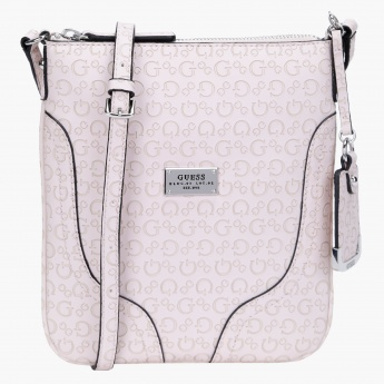 Guess Jacket Signature Satchel Crossbody Bag  2c751001aa0e0